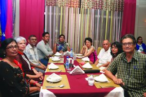 A section of the gathering at the inaugural dinner of Guyana's 100th anniversary of the abolition of Indian indentureship